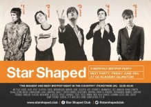 Star Shaped Club London – A Monthly Britpop Party!