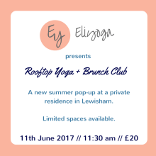 Rooftop Yoga and Brunch Club with Eliyoga