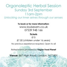 Organoleptic Herbal Session