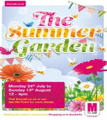 The Mall Wood Green launches its Summer Garden campaign