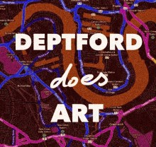 DEPTFORD DOES ART:TRIANGLE II:DIANA PALMER-MOLLY BEHAGG-LUBNA SPEITAN @ DEPTFORD X