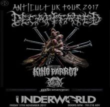 Decapitated + King Parrot, Venom Prison, Thy Disease – LDN