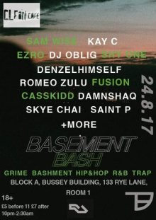 Turtle Basement presents: Basement Bash