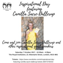 Inspirational Day featuring Camilla Sacre-Dallerup