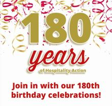 Hospitality Action's 180th Birthday