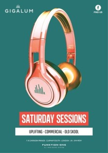 Saturday Sessions at Gigalum