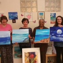 Our Cancer Journey, Exhibition, Enfield, Dugdale, London, Helen Rollason, charity