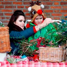 Children's Christmas Workshop,Forty Hall,Enfield,London,kids,craft,class