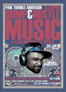 Bump & Hustle Music 5 Year Anniversary Special with DJ Spinna, PTA – More