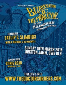 Bizarre Ride II The Pharcyde – 25th Anniversary – Album Performed in Full