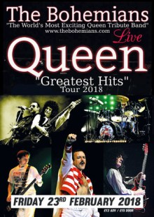 The Bohemians – A Night of Queen @ The Half Moon Putney