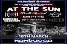 Camden Rocks All-Night'er feat. At The Sun and more at Nambucca