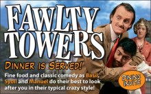 Fawlty Towers Interactive Dinner Show Bexley London