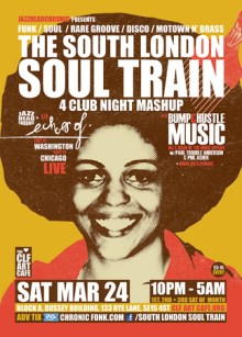 The South London Soul Train 4 Club Night Mash Up with Echoes of (Live)