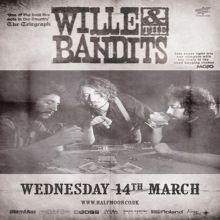 Willie and The Bandits – Live at The Half Moon Putney
