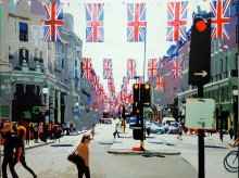 DERIC CH'NG 'LONDON CITYSCAPES' ART EXHIBITION (SPRING 2018)