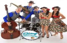The Swing Commanders play live for Sunday Lunch at Hideaway Jazz Club