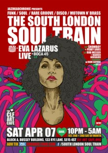 The South London Soul Train with Eva Lazarus (Live) + More on 4 Floors