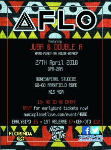 AFLOapril – Immersive AfroCentric Club Night
