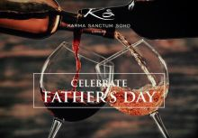 Father's Day Lunch at the Sanctum Soho Hotel