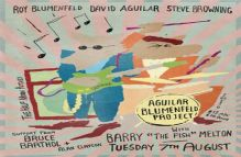 The Aguilar Blumenfeld Project ft Barry The Fish Melton @ Half Moon Putney