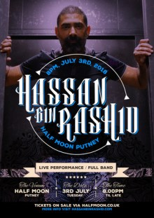 HBR – Hassan Bin Rashid – Live in The Half Moon Putney, London