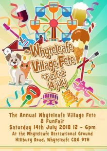 The Annual Whyteleafe Village Fete and Fun Fair
