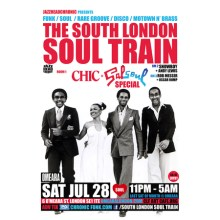 The South London Soul Train Chic and Salsoul Special + More in 3 Rooms