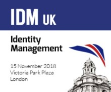 Identity Management UK (IDM) – Central London – 15th November 2018