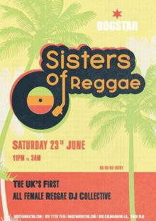 Sisters of Reggae at the Dogstar Brixton – Sat June 23rd