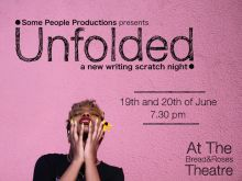 Unfolded – A New Writing Scratch Night