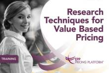 Research Techniques for Value Based Pricing