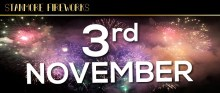 Stanmore Fireworks Display, Saturday 3rd November 2018 (celebration of culture)