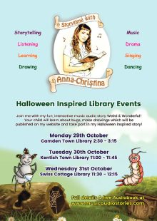 Storytime with Anna-Christina at Swiss Cottage Library!
