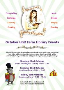 Storytime with Anna-Christina at Chelsea Library!
