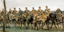 Alfred Munnings: War Artist, 1918 Exhibition