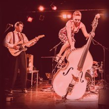 Vintage swing with Bamboozle at Hideaway