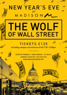 The Wolf of Wall Street – New Year's Eve at Madison