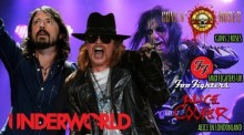 Guns 2 Roses/Faux Fighters/Alice Cooper tribute – The Underworld