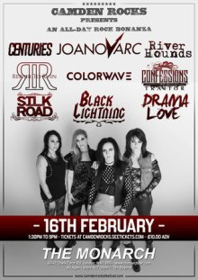 Camden Rocks All Dayer feat. Joanovarc and more at The Monarch