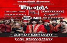 Camden Rocks All Dayer feat. Tarantola and more at The Monarch