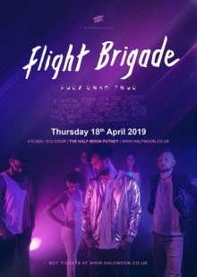 Flight Brigade Live at Half Moon Putney London Thursday 18th April 2019
