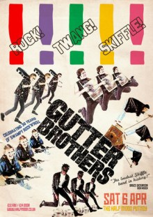 The Gutter Brothers: Live Rock at The Half Moon Putney London Sat 6th April