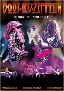 Boot Led Zeppelin Live Tribute at Half Moon Putney London Saturday 16th Mar