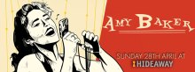 Amy Baker presents 'Its A Good Day' Album Launch