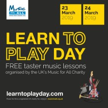 Learn to Play Day is coming to London