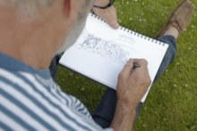 Life drawing classes in Morden Hall Park – 21 Jul & 18 Aug
