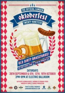 The Official Camden Oktoberfest – One of London largest celebrations