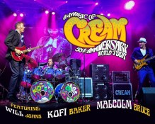 The Music of Cream's 50th Anniversary UK Tour