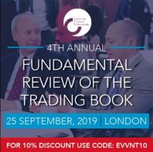 CeFPro Fundamental Review of the Trading Book 2019 – 25 September, London